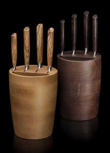 Form follows function: Ein Messerblock muss auch gut aussehen