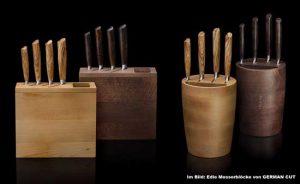 Ein Messerblock ist der beste Aufbewahrungsort für edle Messer