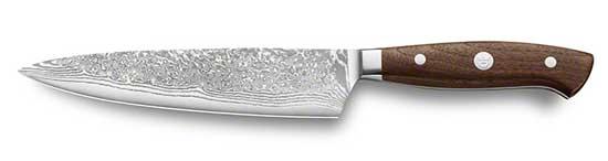 Kochmesser mit Grenadill Griff