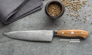 "Profi Kochmesser ""Chefstalk Knife"" von GermanCut.de"